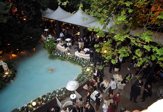 HOTEL SHERATON Diana # Official Garden OPENING # ROYAL APERITIF