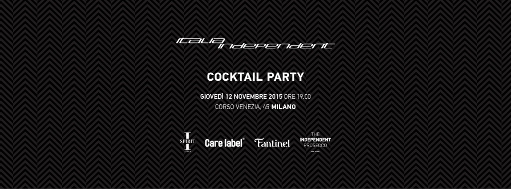 ITALIA INDEPENDENT Cocktail Party #7