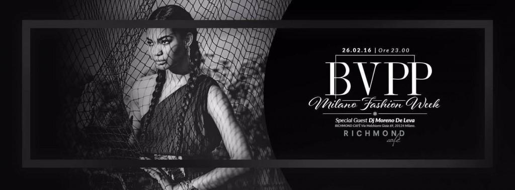 26.02 Milan Woman's Fashion Week – Black Vogue Private Party