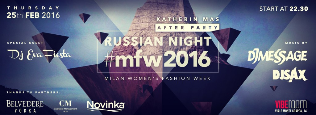 25.02 After Party Katherin Mas for Milan Woman's Fashion Week
