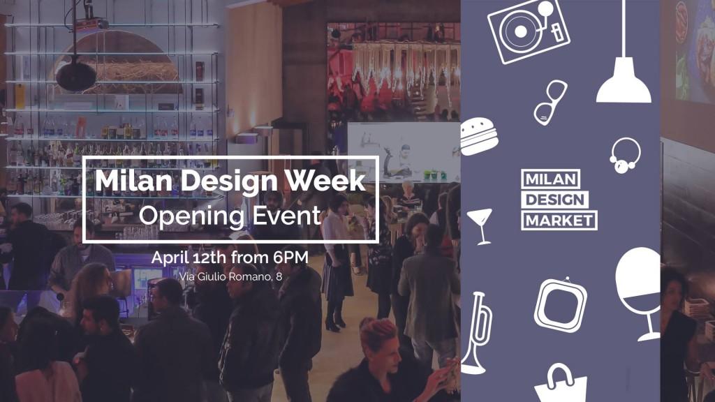 12.04 MDW Opening Event • Milan Design Market