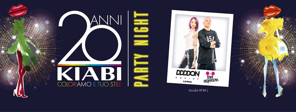 15.09 20 ANNI KIABI – Party Night Special Edition