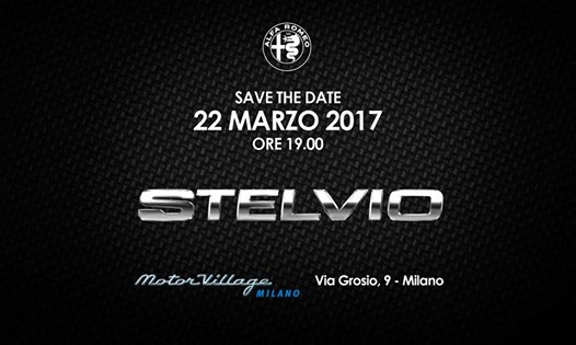 22.03 Lancio ALFA ROMEO Stelvio   Exclusive Cocktail Party