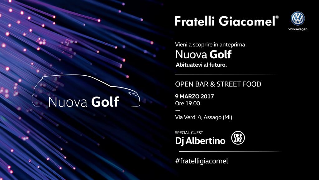 9.03 Lancio NUOVA GOLF – Special Guest DJ ALBERTINO