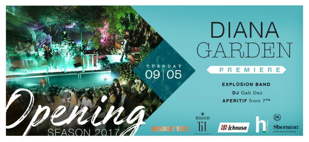 9.05 Opening Season Party DIANA GARDEN