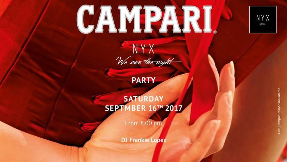 16.09 Garden Party by Campari in NYX Milan Hotel