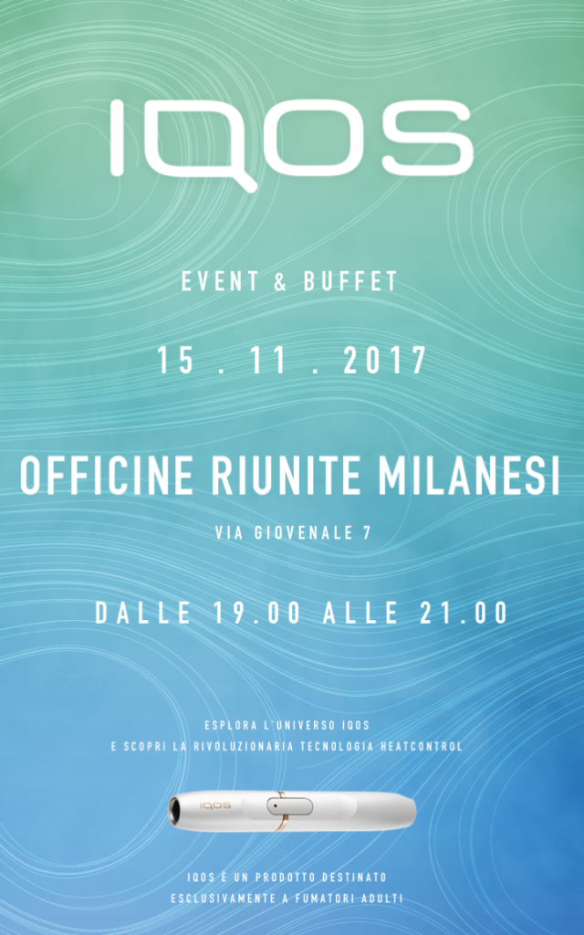15.11 IQOS COCKTAIL LOUNGE PARTY