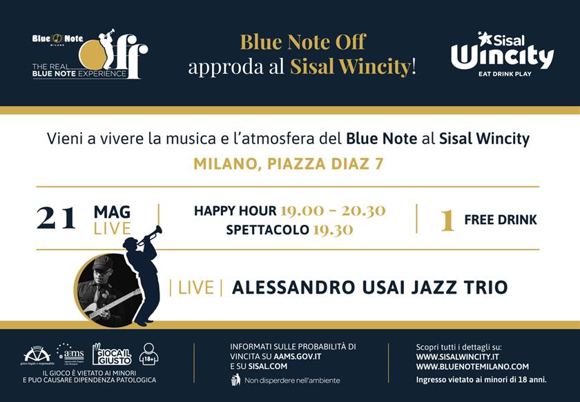 21.05.18 Blue Note Off @ Sisal Wincity – LIVE JAZZ