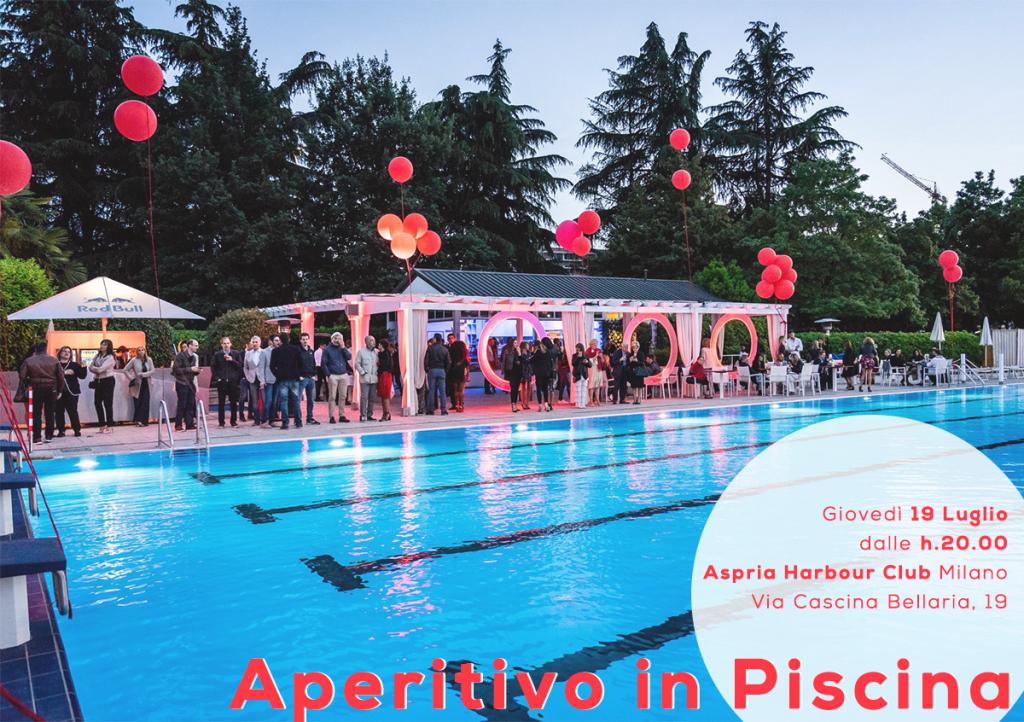 19.07   Aperitivo in Piscina   Harbour Club