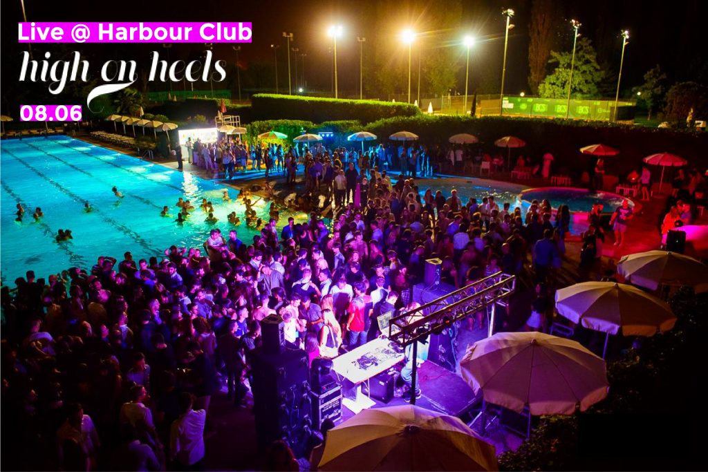 Dancing in the Moonlight w High on Heels – Pool Party by Redbull