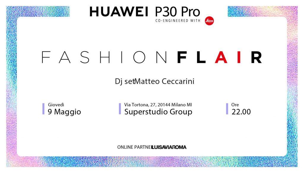 09.05   Huawei P30 Pro FASHION FLAIR