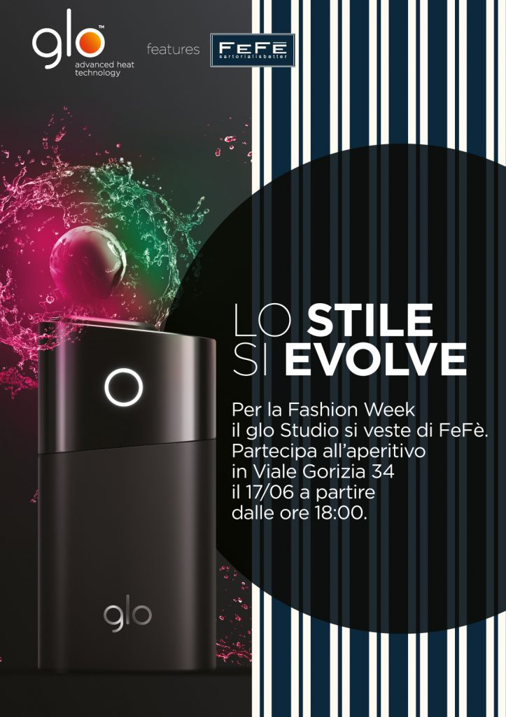 17.06 – Milan Fashion Week: Glo Studio si veste FeFè