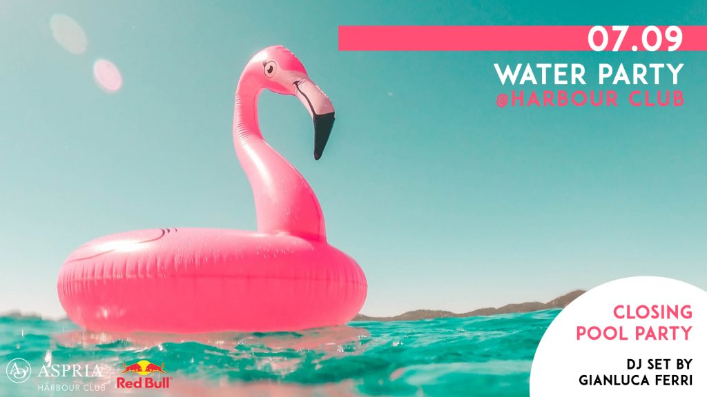 07.09 – Pool Party at Harbour Club | Water Party
