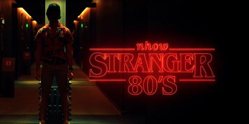 31.10 – STRANGERS 80's  Halloween Private Party @nhow Hotel