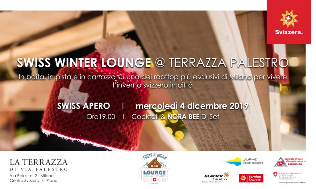 4.12   SWISS APERO / Swiss Winter Lounge @ Terrazza Palestro