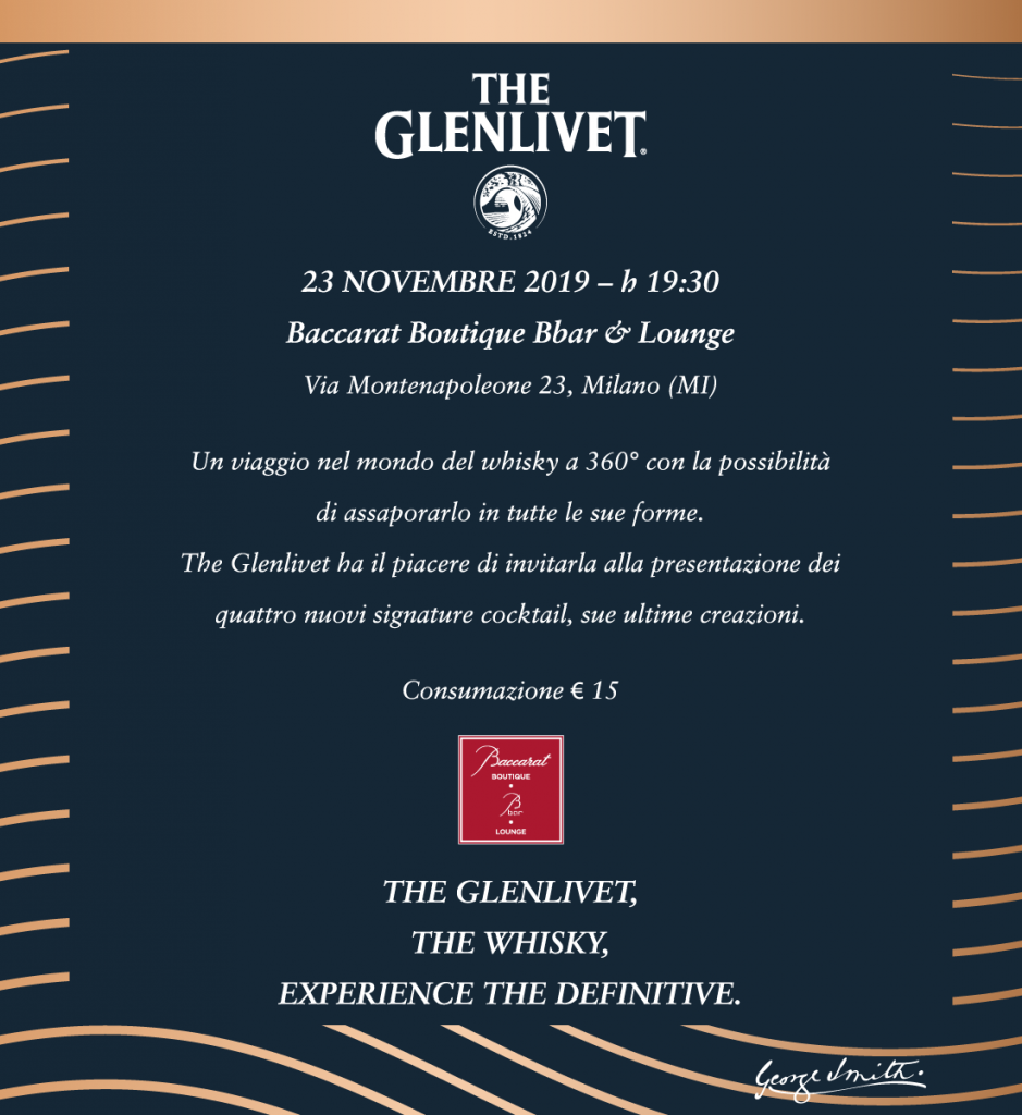 23.11 – The Glenlivet @ Baccarat Boutique Bbar & Lounge